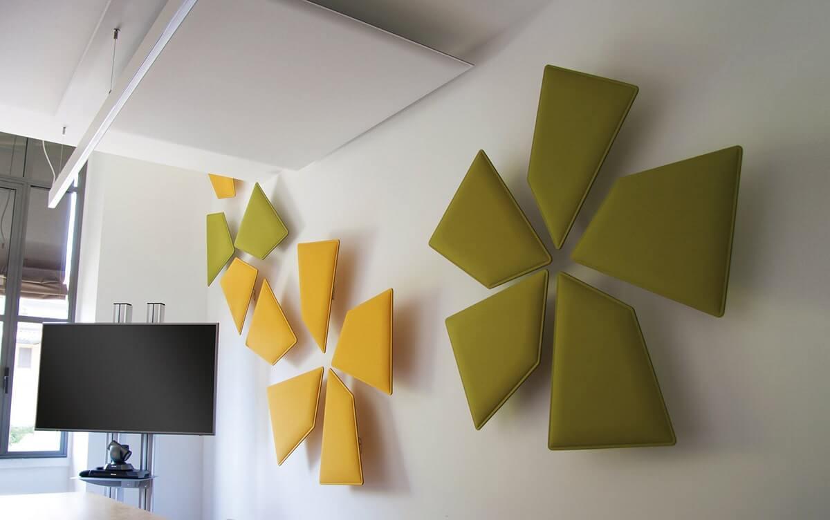 solution acoustique murale bureau
