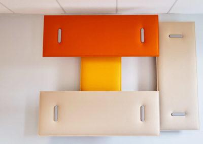 solution acoustique murale Bureau 44