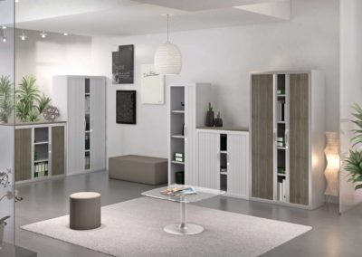 solution de rangement armoires rideau arvor bureau