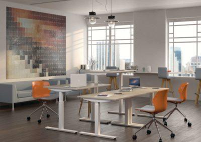 espace bureau open space amenagement arvor bureau les sorinières