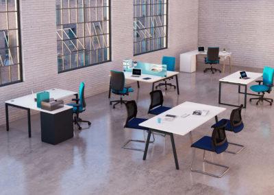 bureau open space réalisation Arvor bureau 44