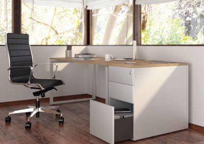 mobilier bureau caisson hauteur