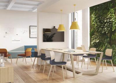 assises bi-color salle de réunion
