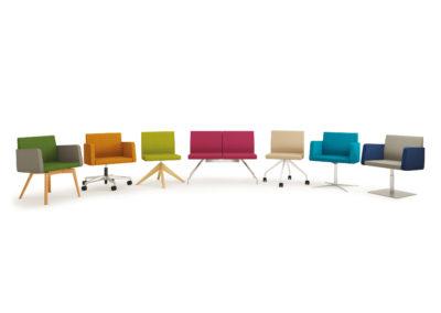 mobilier de bureau chaise design + couleurs