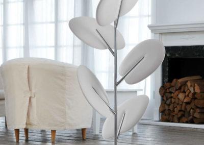 décoration acoustique arbre