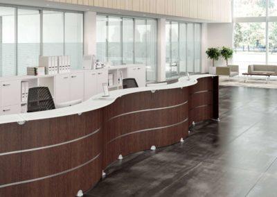 hall accueil mobilier creation arvor bureau les sorinières