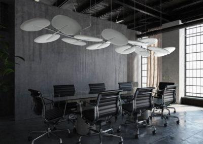solution acoustique déco pour salle de réunion