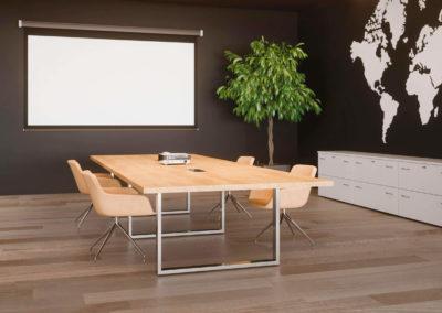 Salle de reunion avec video projecteur