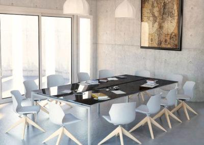 salle réunion deco minimaliste