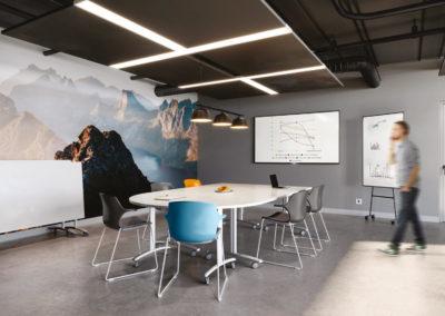 salle réunion table modulable