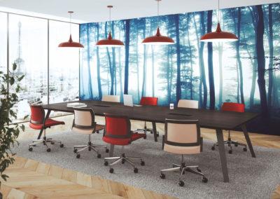 espace de travail réunion PME