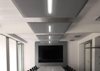 solution acoustique pour salle de réunion