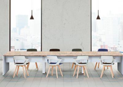 salle réunion blanc et bois 44